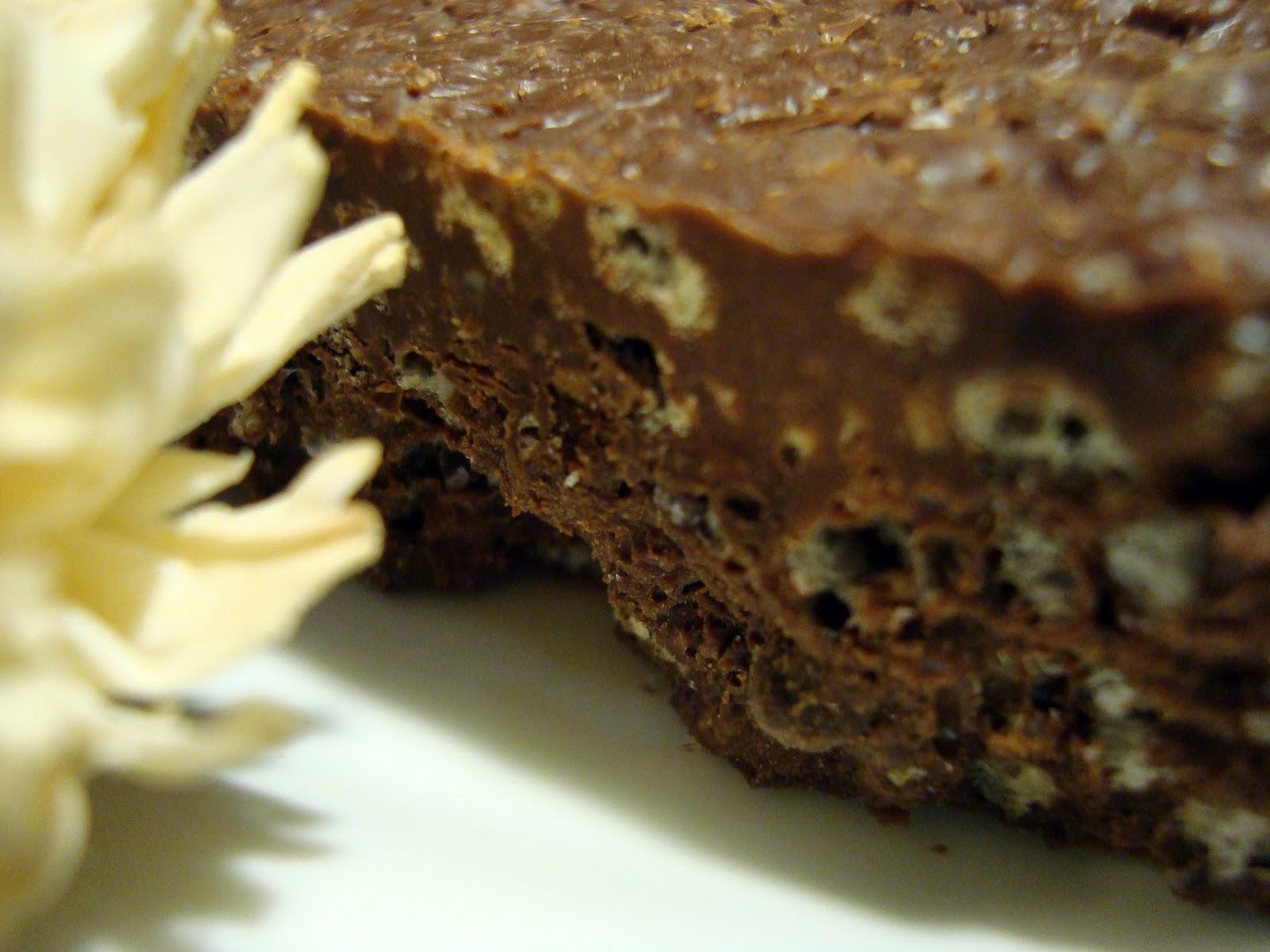 receta turrón chocolate crujiente