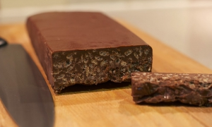receta de turrón de chocolate crujiente