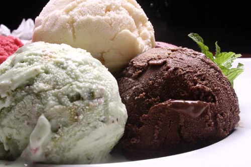helado alimento nutritivo