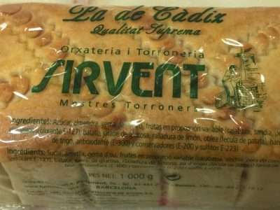 pan de cádiz Sirvent