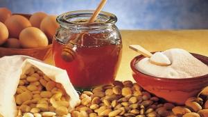 amandes et de miel