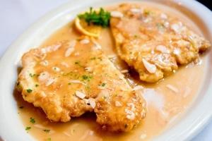 pollo con horchata