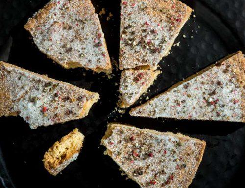 Pasteles de Turrón con pimienta