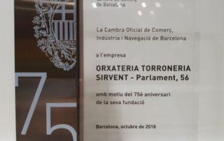 Orxateria Turroneria Sirvent cumple 75 años