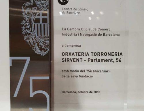 Orxateria Torroneria Sirvent – 75 anys gràcies a tú