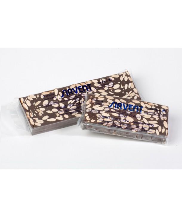 Turrón de chocolate negro